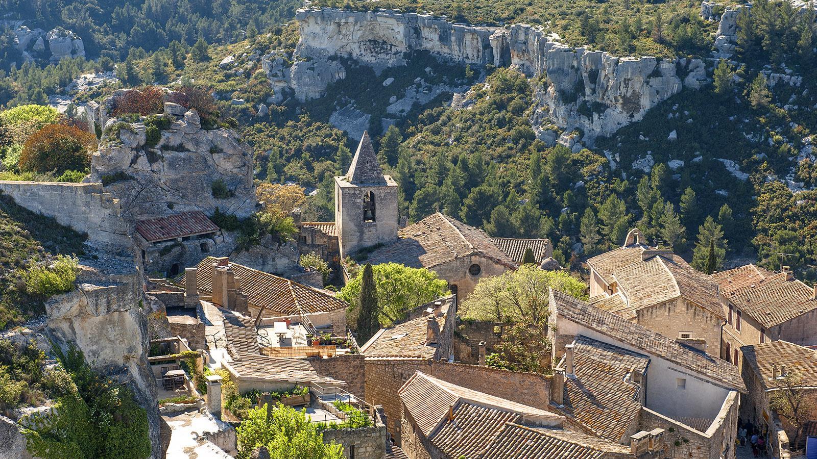 Les Baux-de-Provence gehört zu den schönsten Dörfern Frankreichs