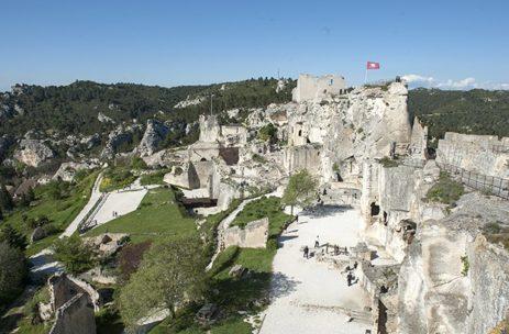 Baux de Provence, château