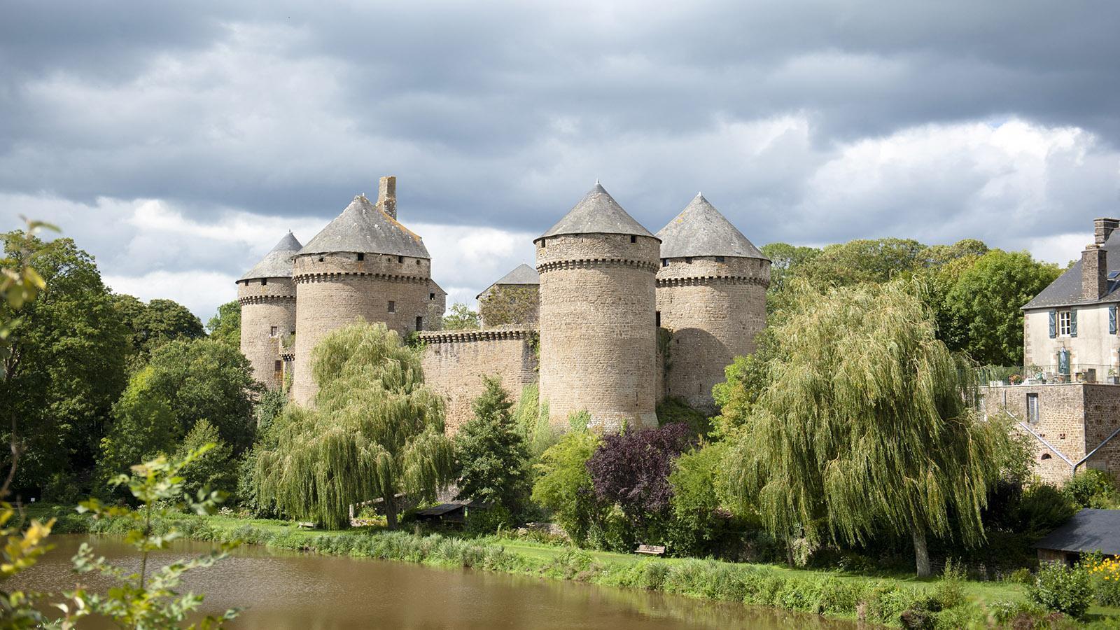 Lassay-les-Châteaux. Foto: Hilke Maunder