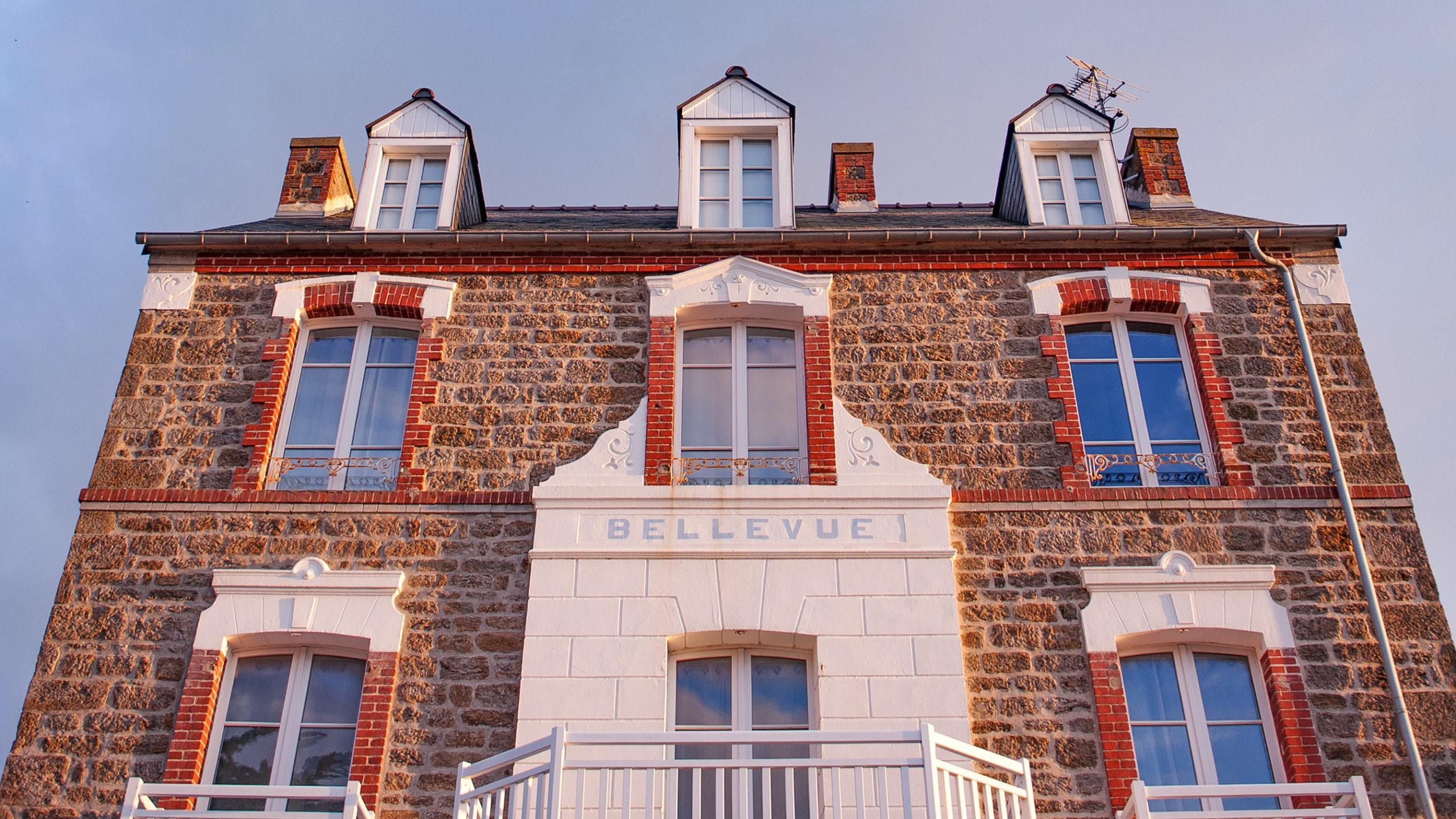 "Saint-Lunaire, Strandvilla ""Bellevue"". Foto: Hilke Maunder"