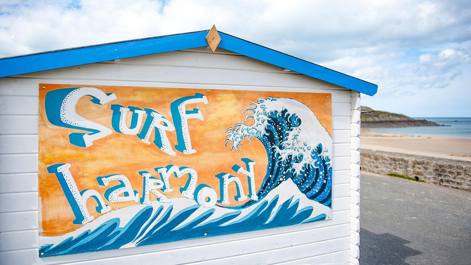 Saint-Lunaire, Surf-Street-Art. Foto: Hilke Maunder