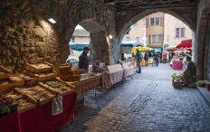 Annecy, vieille ville, marché