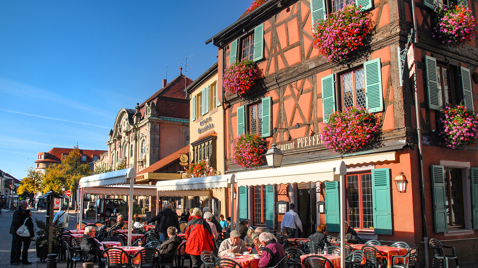 Colmar: im Gerberviertel. Foto: Hilke Maunder