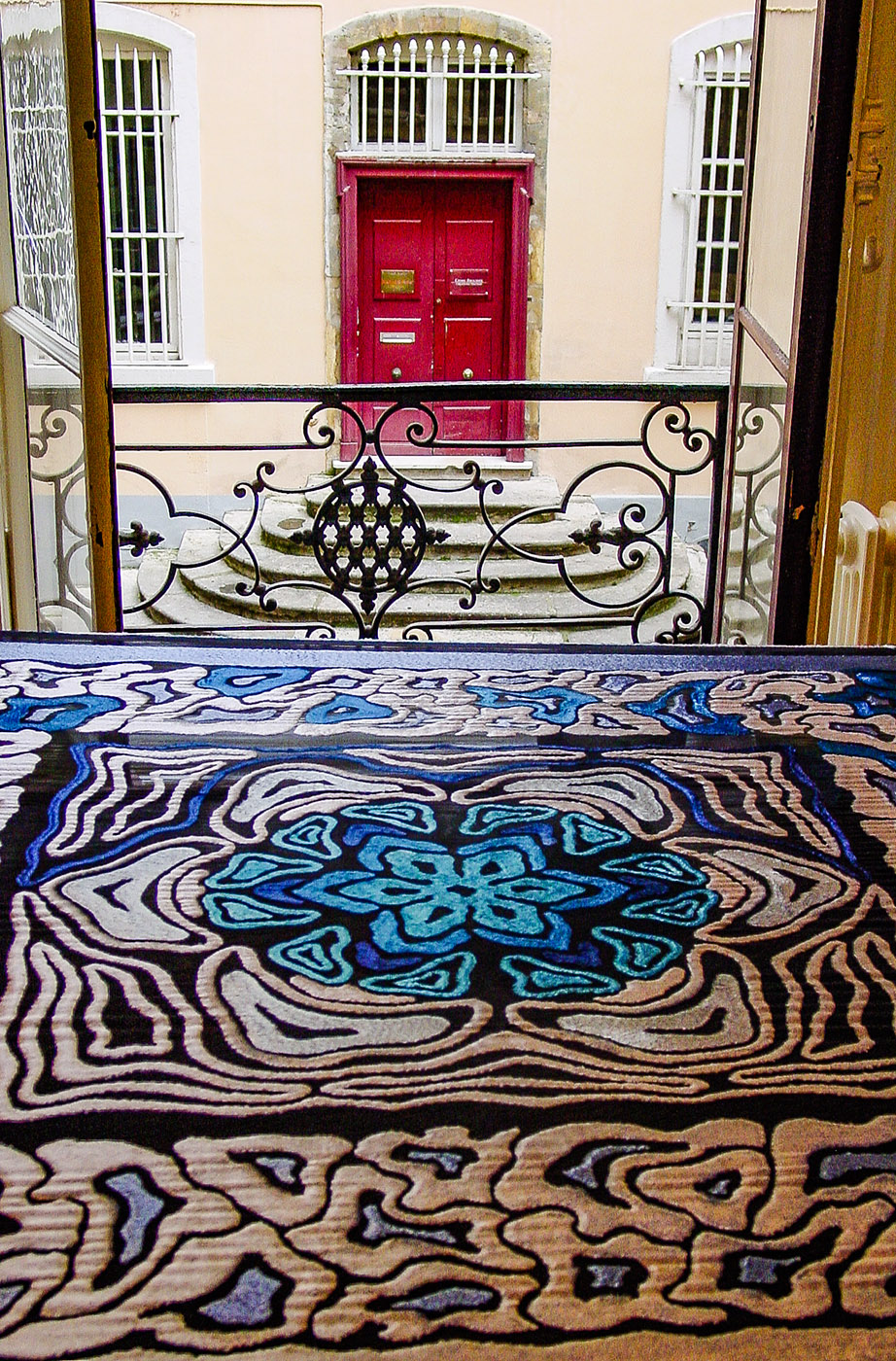 Lyon: gewebte Seide. Foto: Hilke Maunder