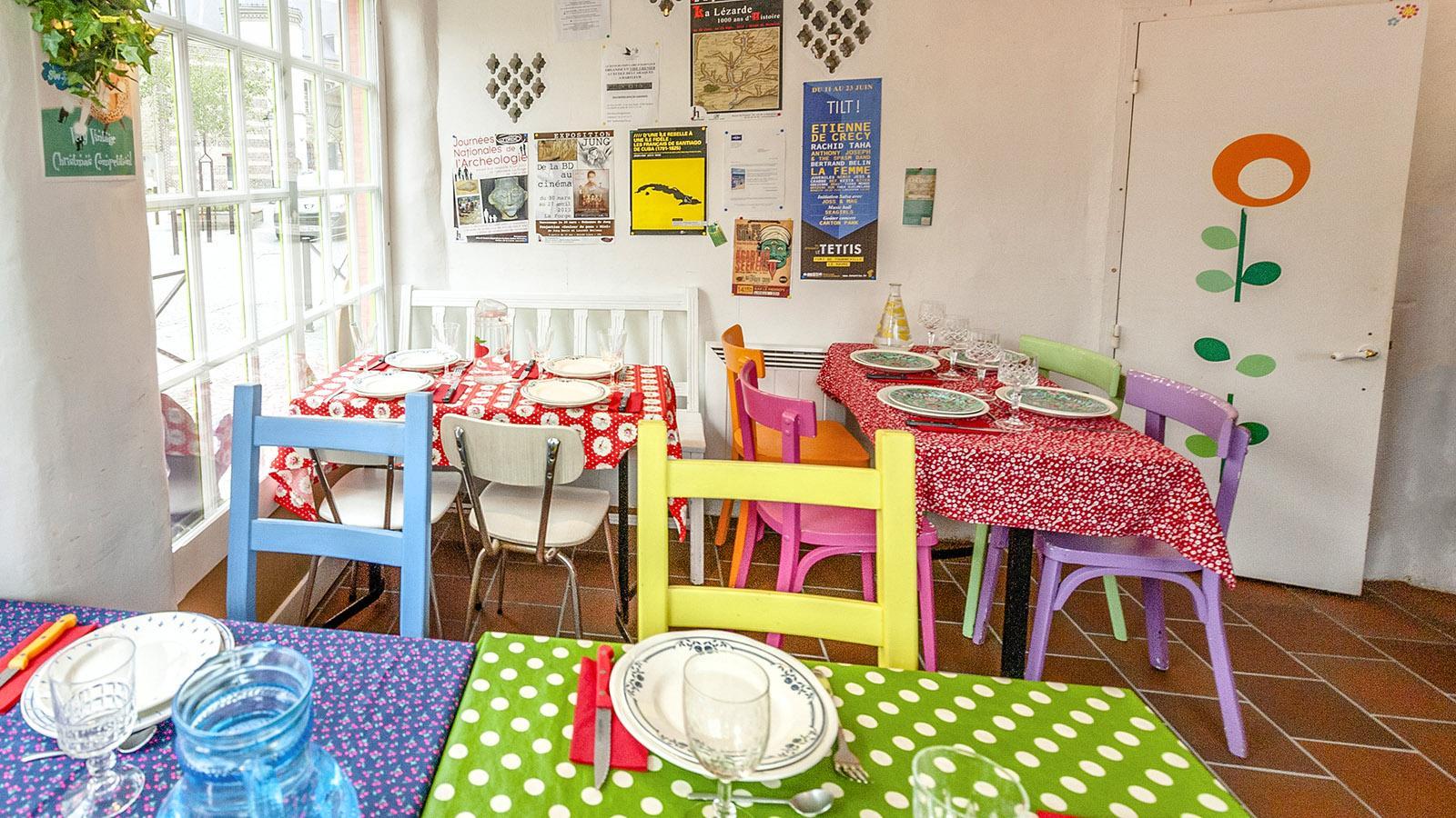 La Cantine, Restaurant associatif in Harfleur. Foto: Hilke Maunder