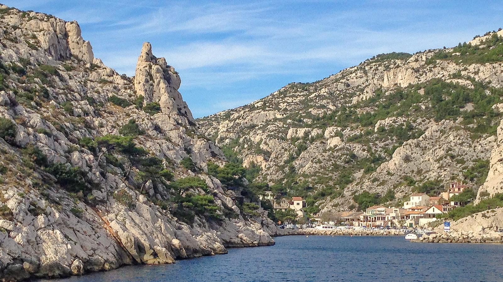 Calanques des Marseille: Morgiou. Foto: Hilke Maunder