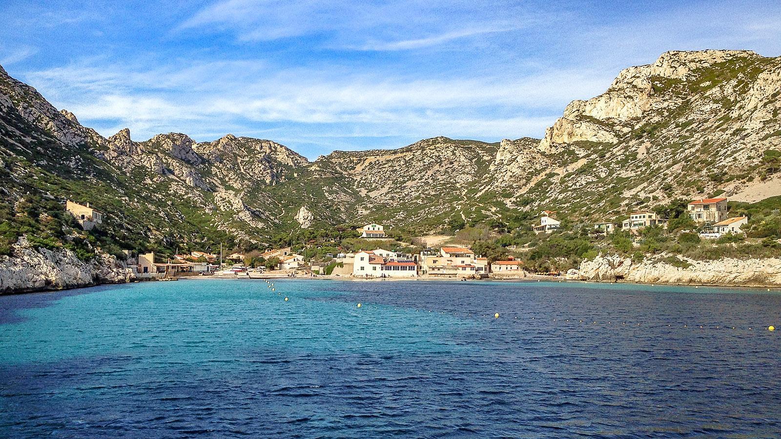 Calanques de Marseille: Sormiou. Foto: Hilke Maunder