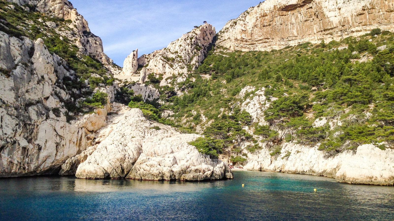 Calanques de Marseille: bei Sugiton. Foto: Hilke Maunder