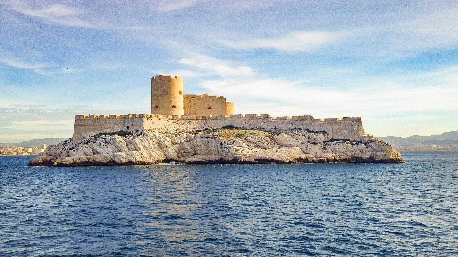 Marseille: Château d'If. Foto: Hilke Maunder