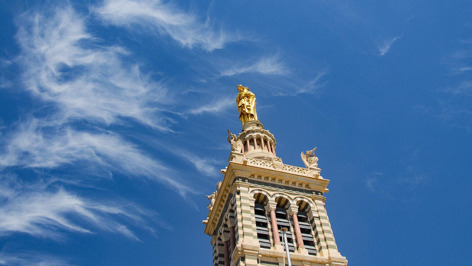 Marseille: Notre-Dame de la Garde.