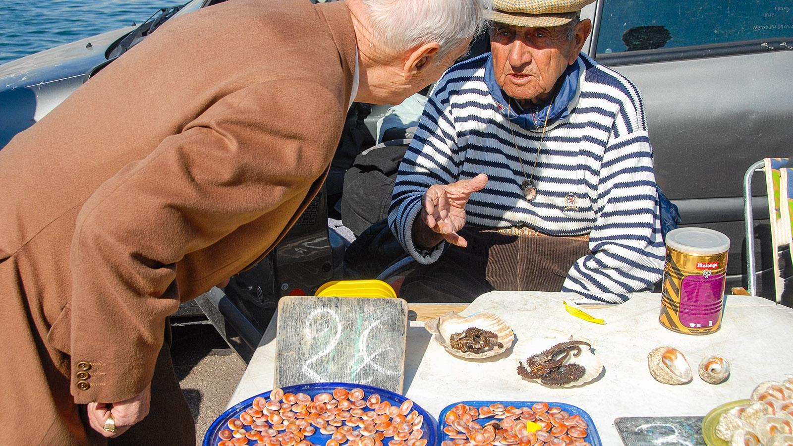 Marseille: Fischmarkt im Vieux-Port. Foto: Hilke Maunder