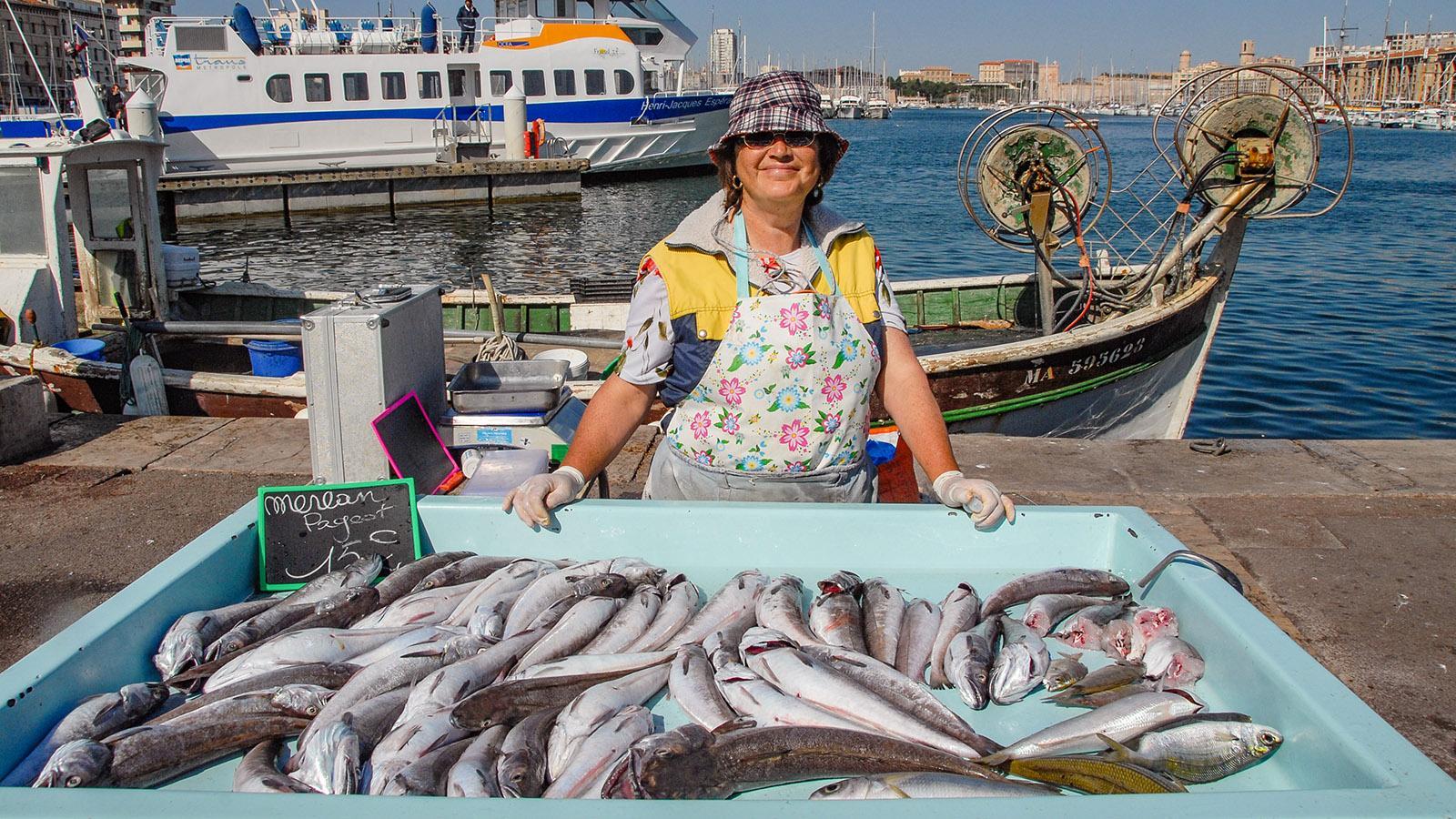 Der Fischmarkt von Marseille. Foto: Hilke Maunder