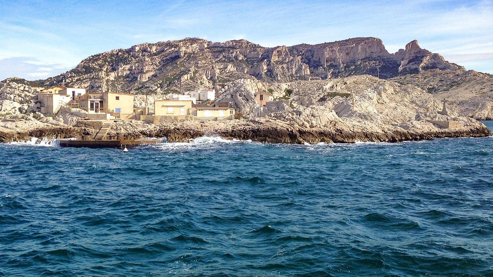 Calanques de Marseille: die Küste beim Cap Croisette. Foto: Hilke Maunder