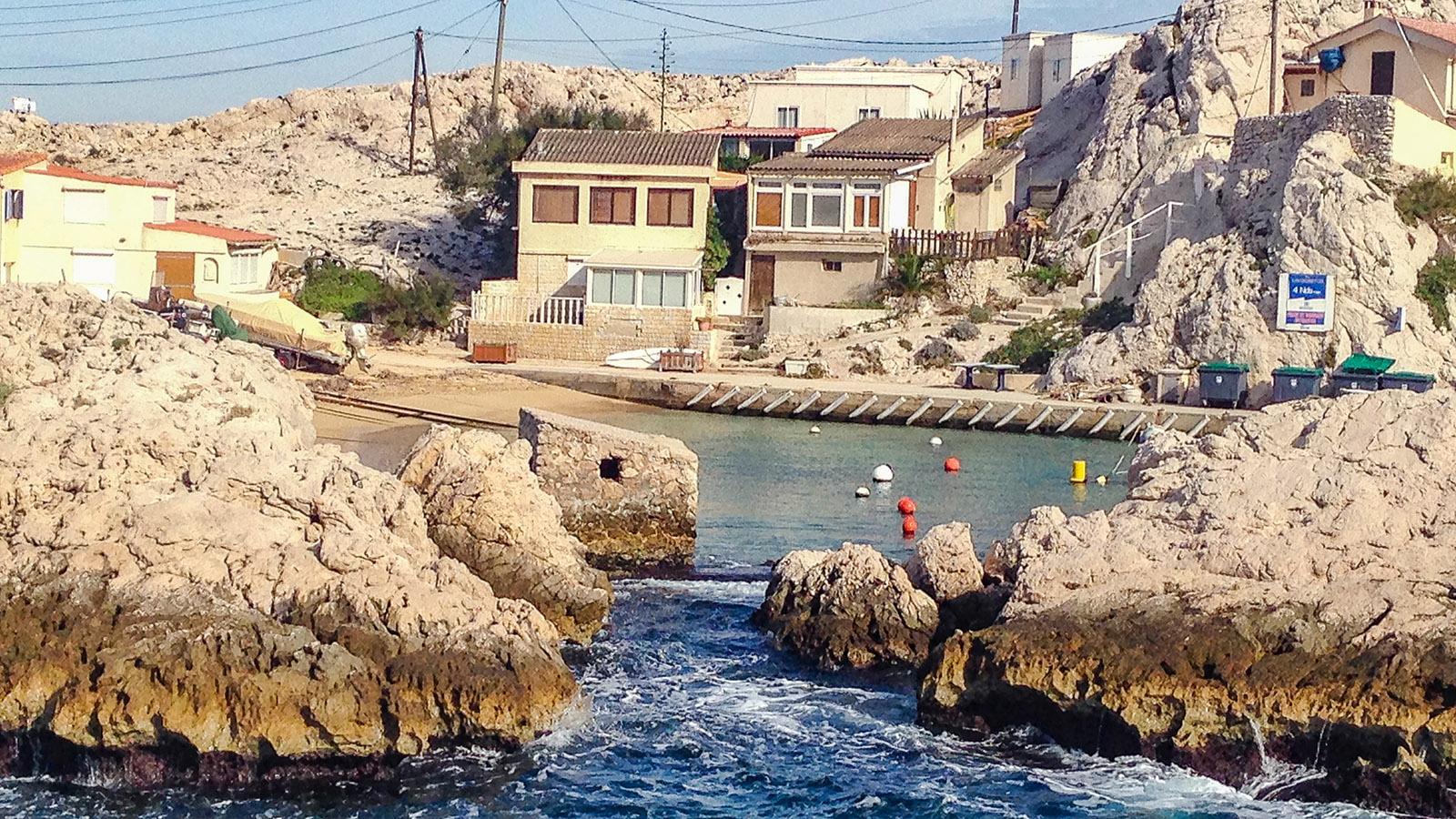Calanques de Marseille: am Cap Croisette. Foto: Hilke Maunder