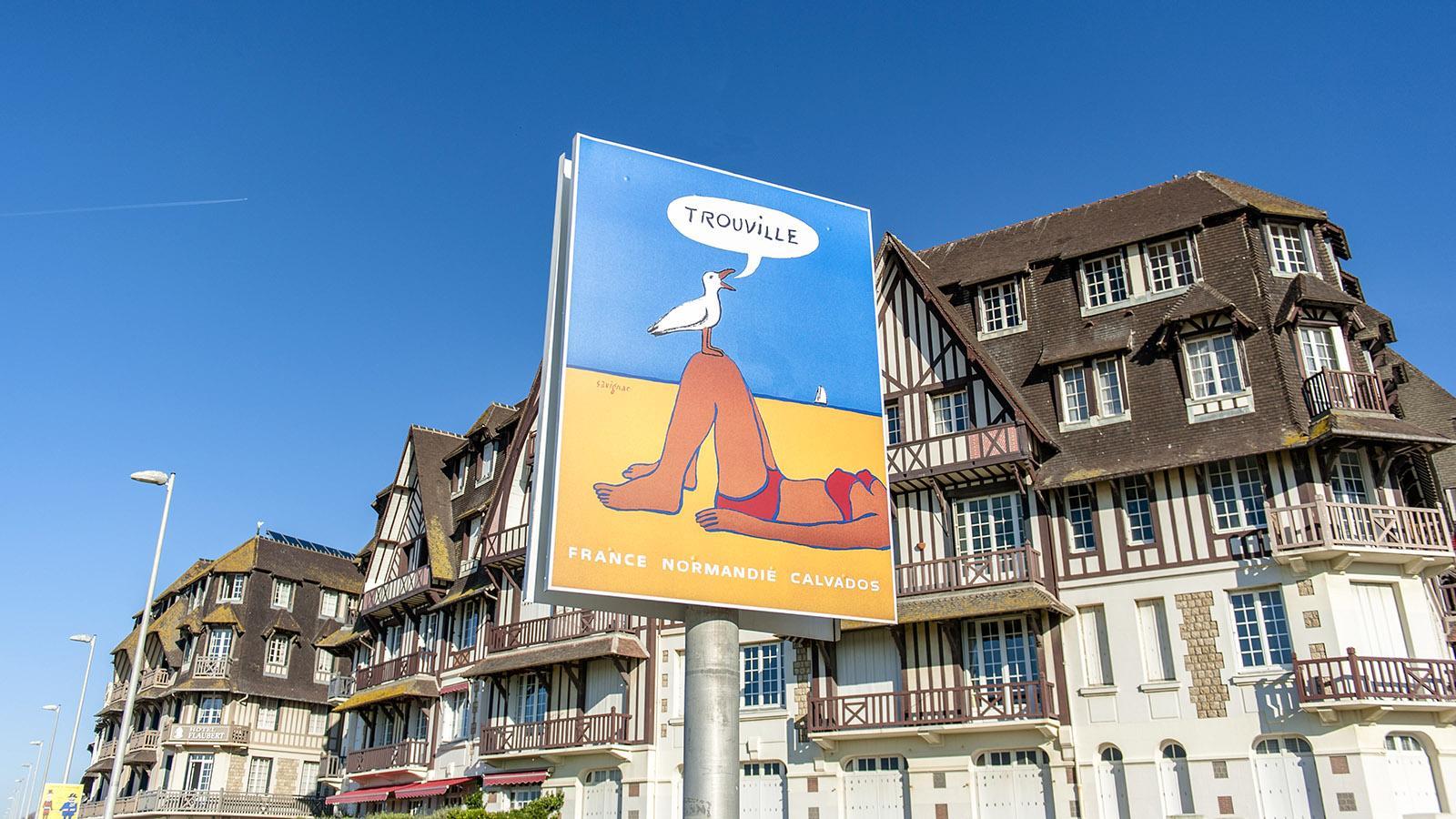 Die Planches von Trouville. Foto: Hilke Maunder