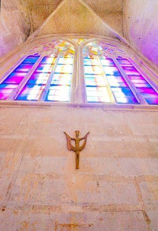 Normandie_Harfleur_Kirche_Glasfenster_4_©Hilke Maunder
