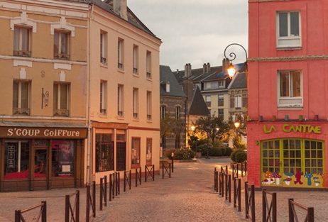 Normandie_Harfleur_centre_abends©Hilke Maunder