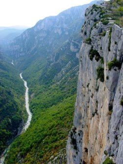 F/Provence/Haute Provence/Palud de Verdon/Gorges du Verdon: Routes des Crêtes.