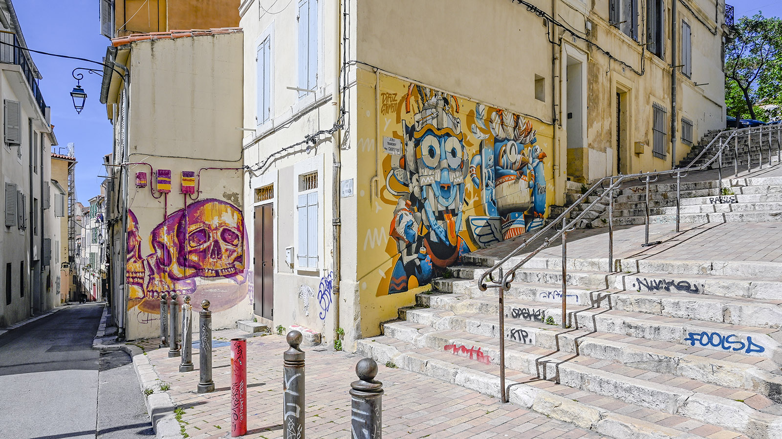 Marseille, Le Panier. Foto: Hilke Maunder