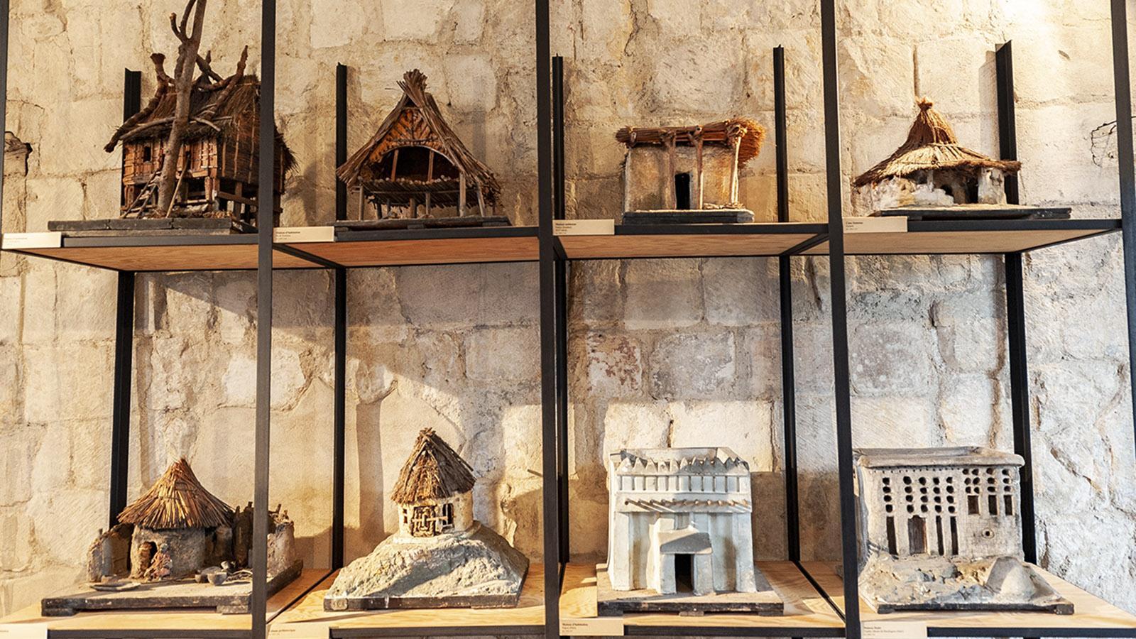 Sammlung Gosselin in der Abtei von Graville / Le Havre