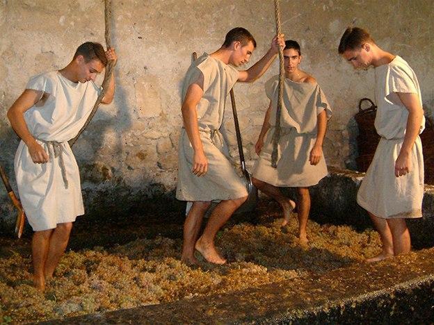 Bereits die Römer bauten im Languedoc Wein an