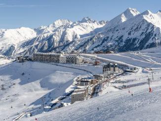 Saint-Lary Soulan: Bergstation auf 1700 m Höhe. Foto: Hilke Maunder