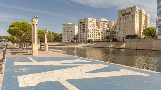 Montpellier: aufregende Architektur am Lez - Mein Frankreich