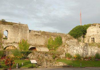F/Normandie/Fécamp: Ruine des Château des Ducs du Fécamp