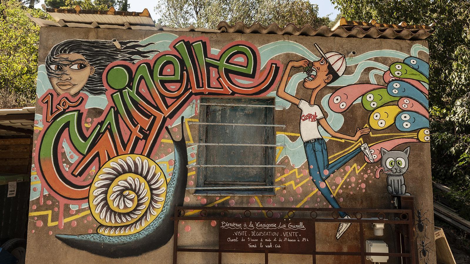 Feinster Essig; La Guinelle bei Banyuls. Foto: Hilke Maunder