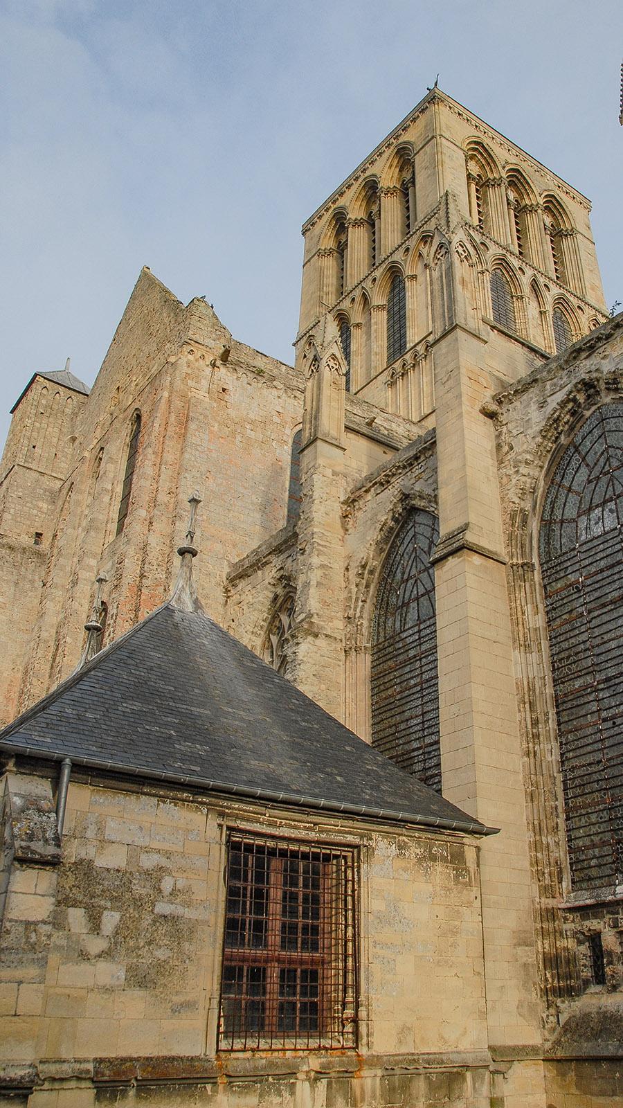 Die Abbatiale de Fécamp. Foto: Hilke Maunder