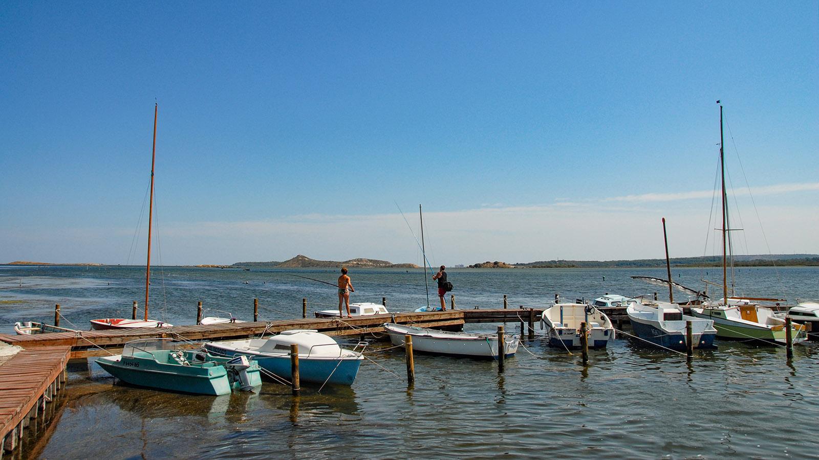 La Milhauque: Der Étang de Bages bei Peyriac-sur-Mer. Foto: Hilke Maunder
