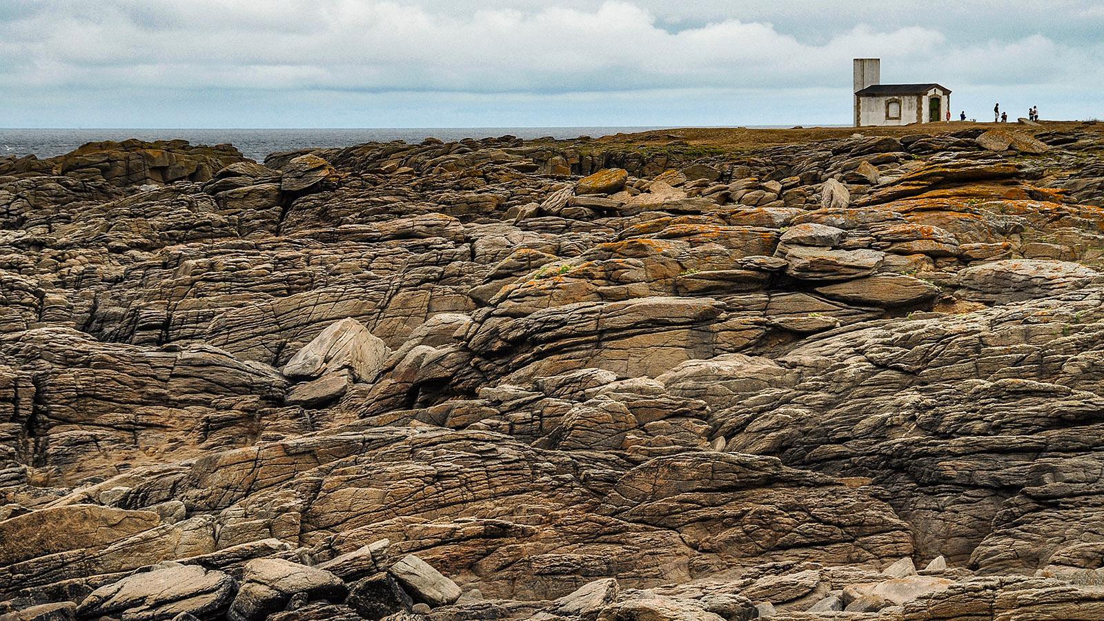 Île d'Yeu: Côte Sauvage: an der Pointe du But. Foto: Hilke Maunder