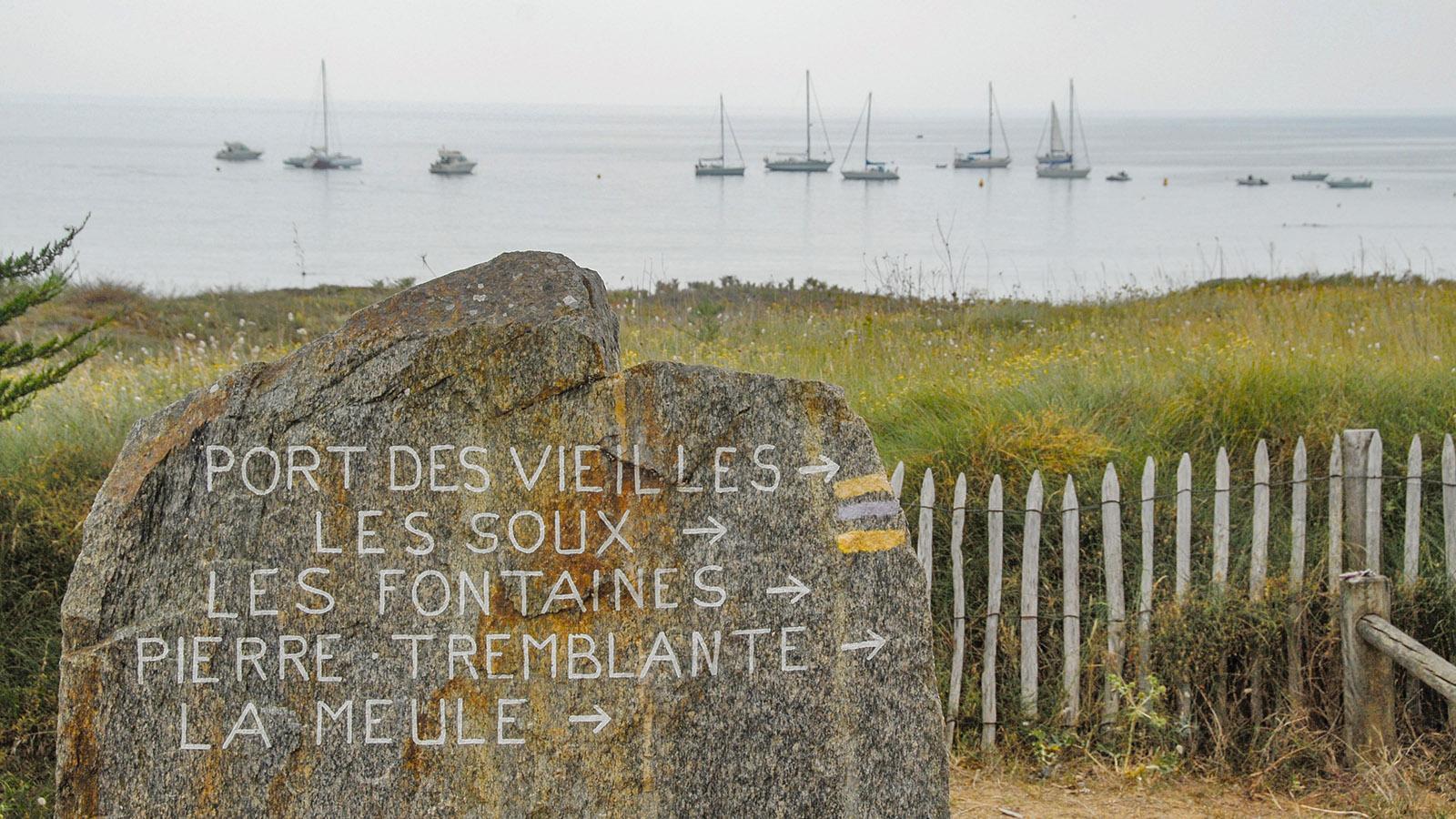 Île d'Yeu: Côte Sauvage: Plage des Vieilles. Foto: Hilke Maunder