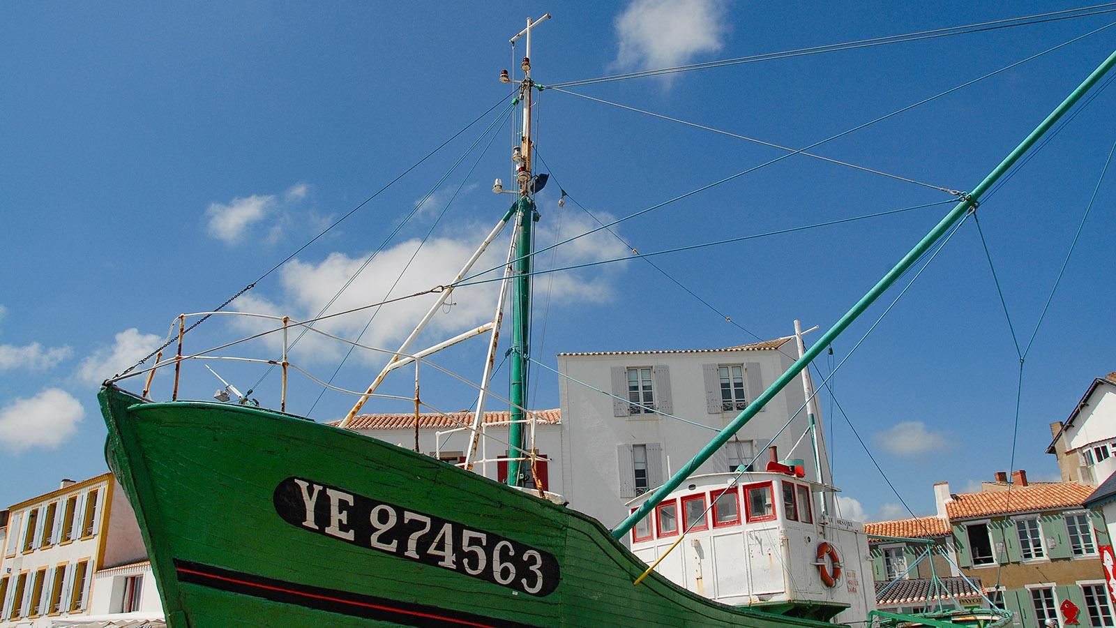 Île d'Yeu: Port-Joinville. Foto: Hilke Maunder