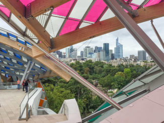 Paris: Fondation Louis Vuitton. Foto: Hilke Maunder