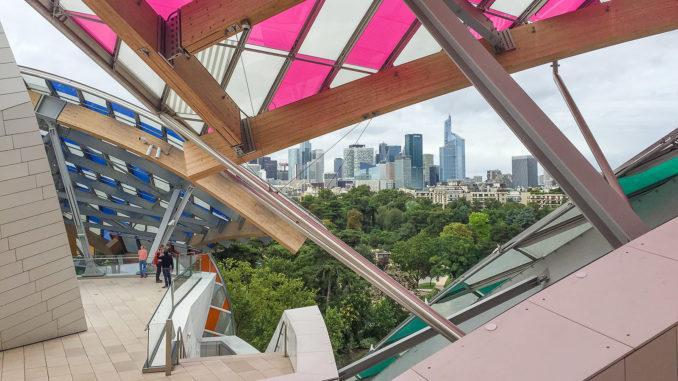 Paris: Fondation Louis Vuitton. Foto: Hilke Maunder