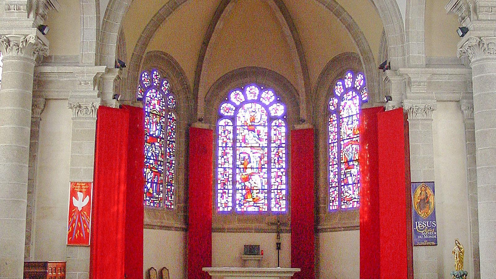 Sainte-Anne d'Auray: Eine Kapelle im Karmeliterkloster. Foto: Hilke Maunder