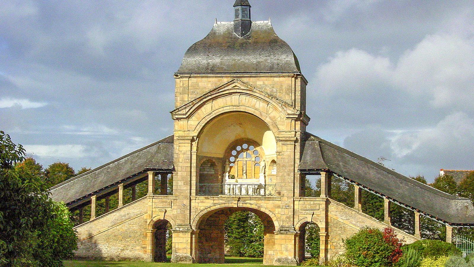Sainte-Anne d'Auray: Scala Sancta auf dem Wallfahrtsgelände. Foto: Hilke Maunder