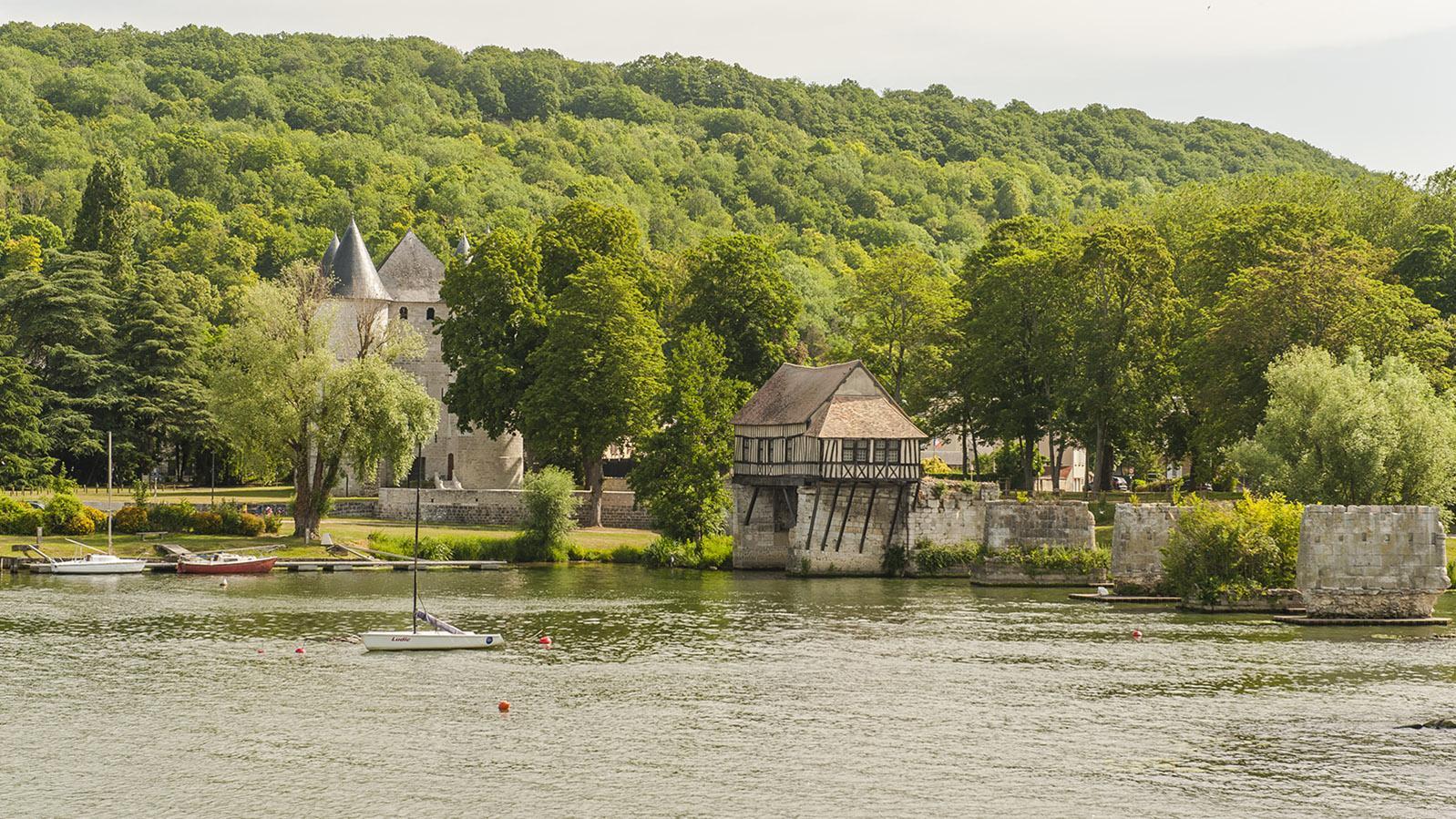 Vernon: die berühmte Brücke, die auch Monet inspirierte. Foto: Hilke Maunder