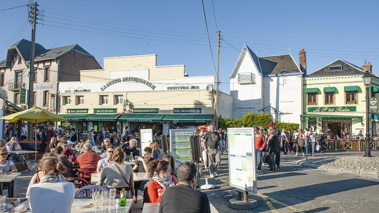 Le Crotoy, Restaurants. Foto: Hilke Maunder