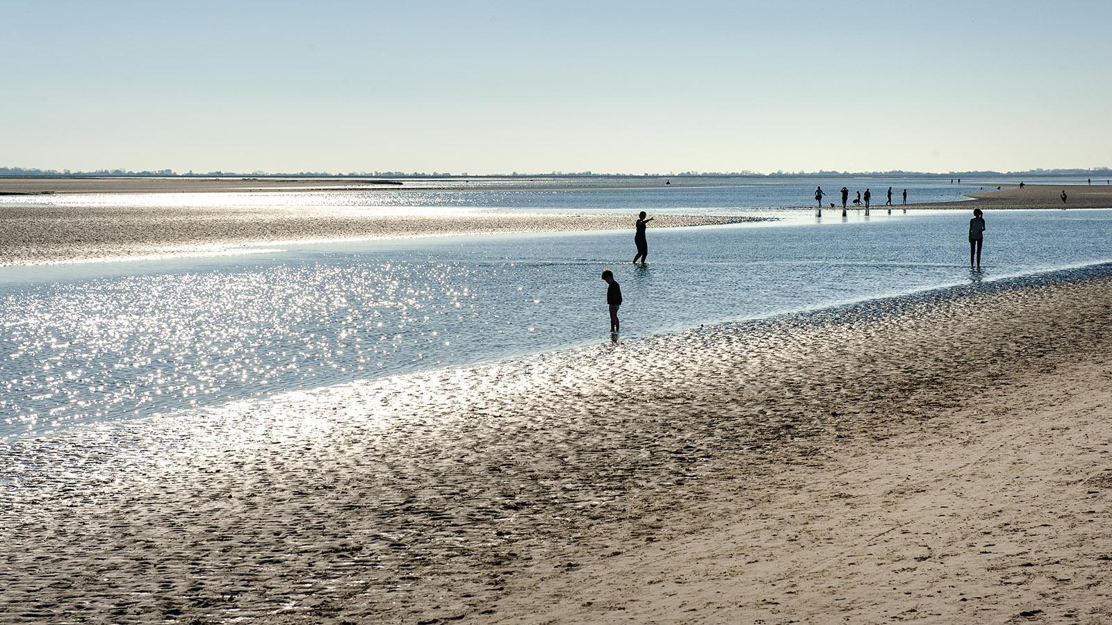 Le Crotoy: der Strand an der Somme. Foto: Hilke Maunder