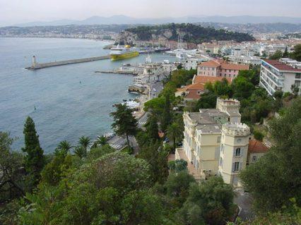 F/Provence/Côte d'Azur/Nizza: Blick auf den Hafen.