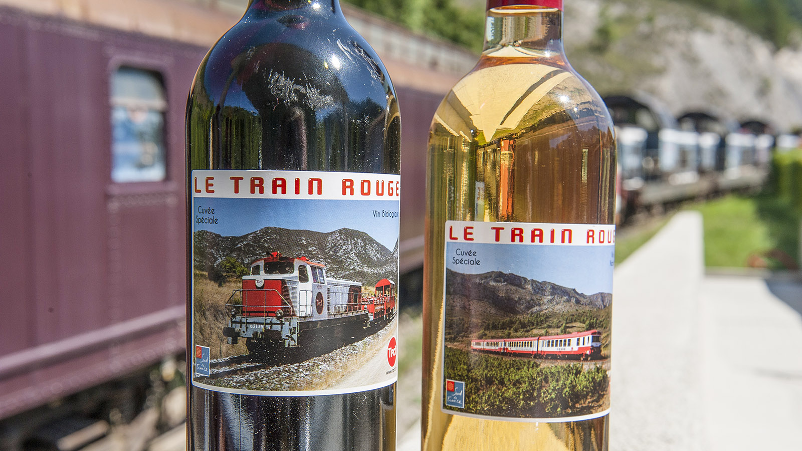 Train Rouge: der Wein. Foto: Hilke Maunder