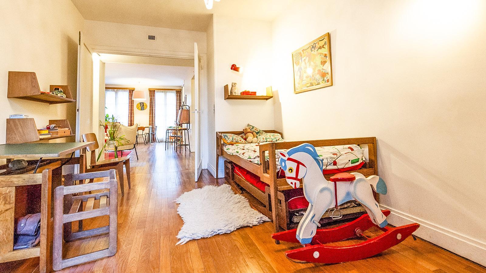 Appartement Témoin: : das Kinderzimmer. Foto: Hilke Maunder