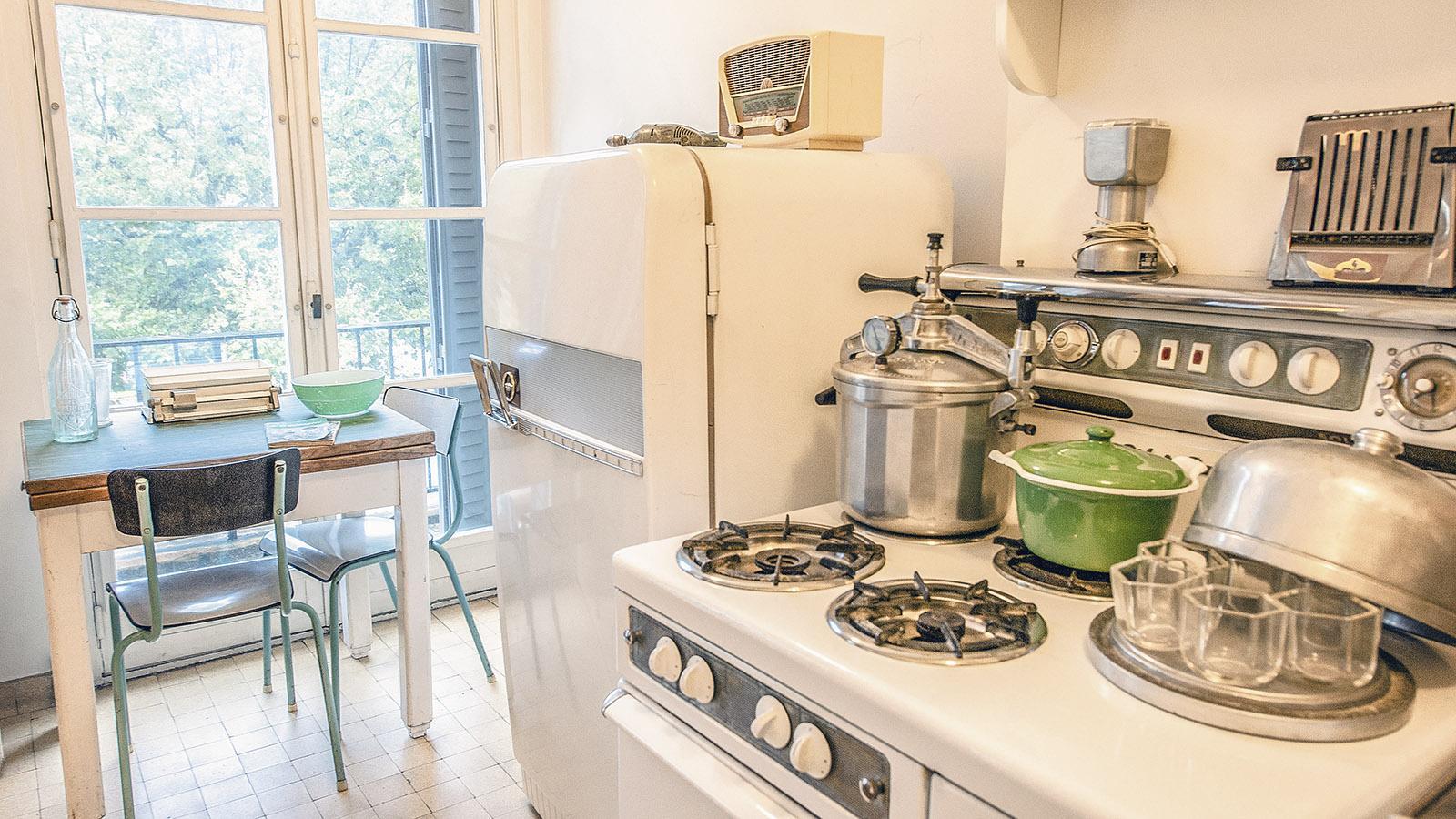 Appartement Témoin: die Küche. Foto: Hilke MaunderFoto: Hilke Maunder