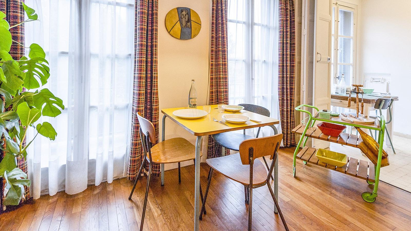 Appartement Témoin: der Essbereich. Foto: Hilke Maunder