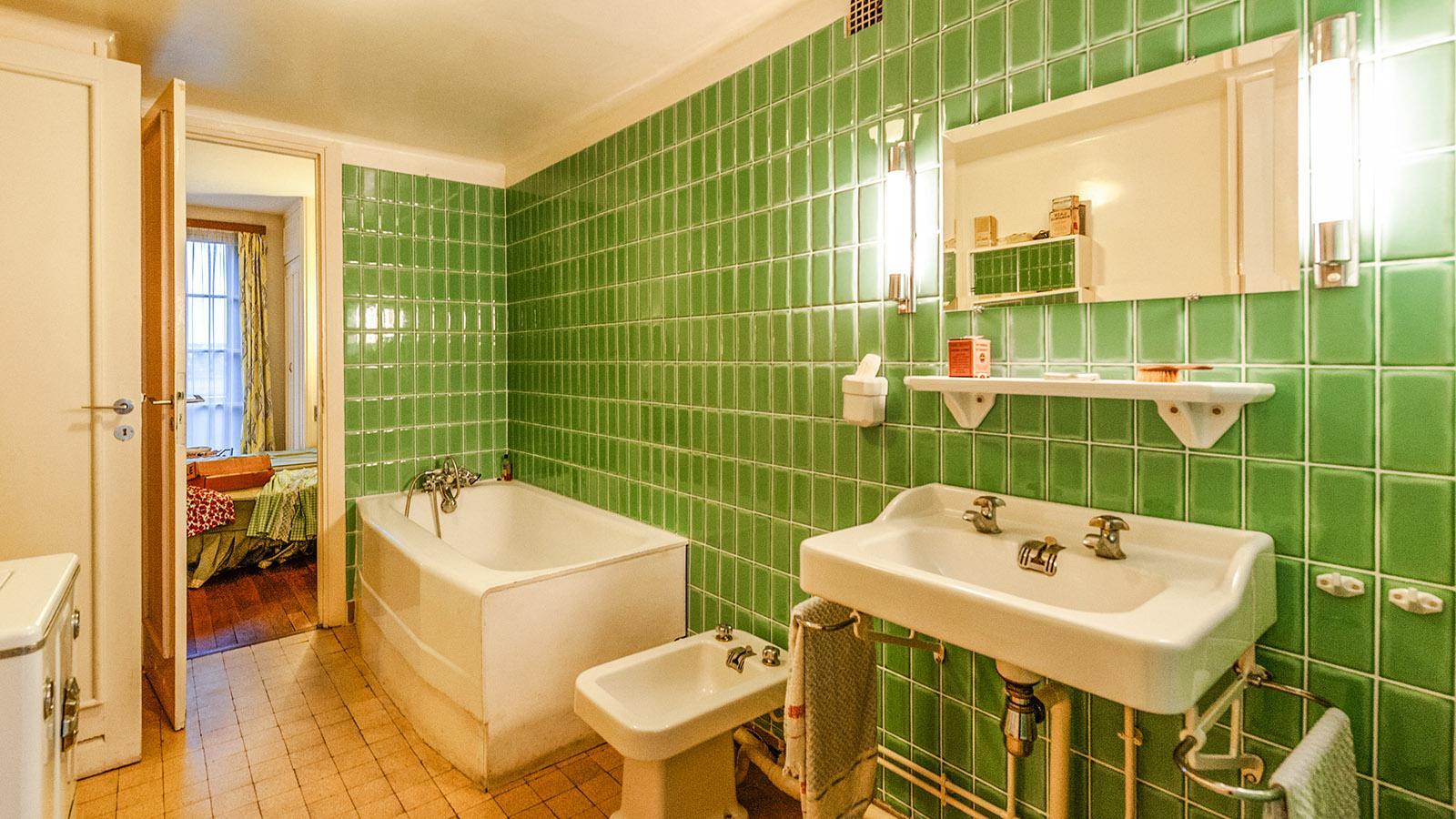 Appartement Témoin: das Badezimmer. Foto: Hilke Maunder
