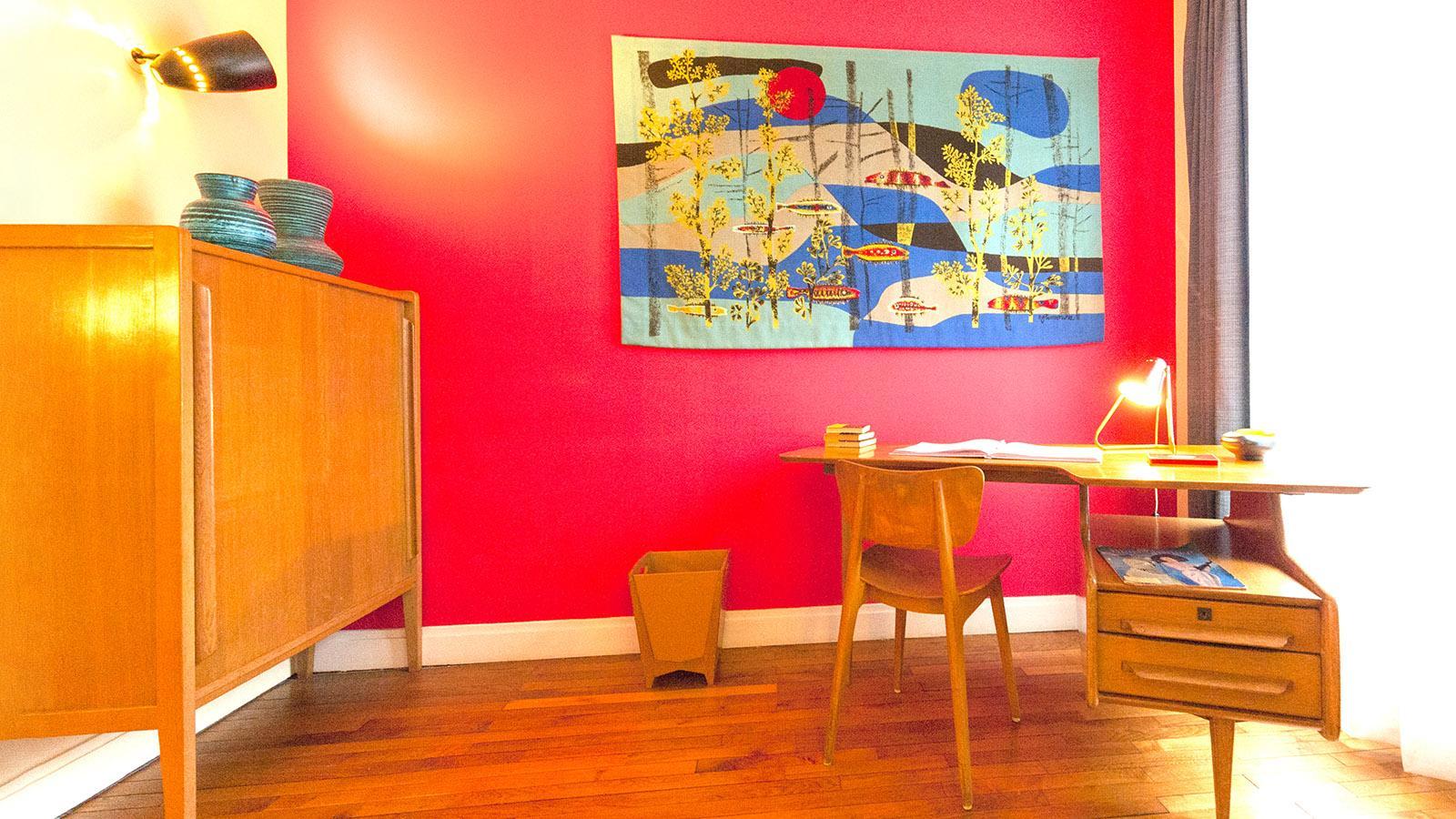 Appartement Témoin: Das Arbeitszimmer. Foto: Hilke Maunder