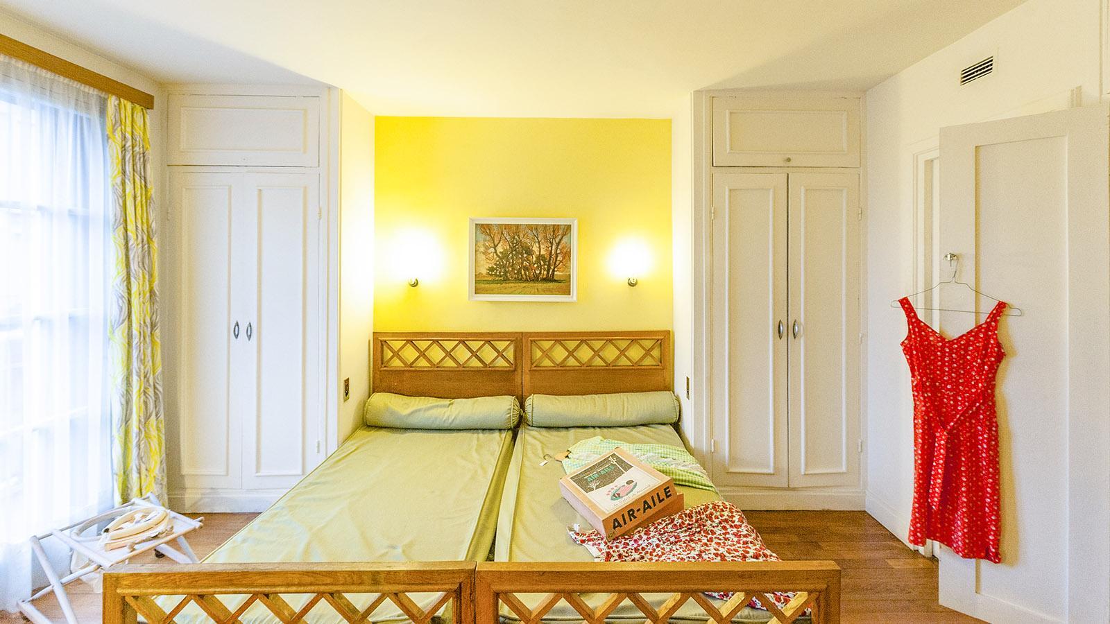 Appartement Témoin: das Schlafzimmer. Foto: Hilke Maunder