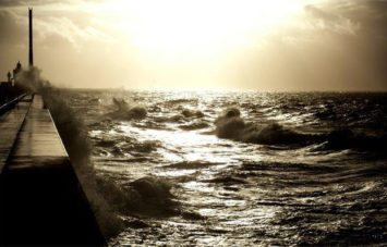 Normandie_Le Havre_Mole_Sturm_©Hilke Maunder